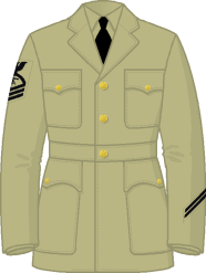 Uniforms wwii enlisted us navy Service stripe